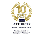 Top 10 Family Law Attorney Logo